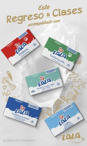Anuncio: Regreso a clases con leche Lala