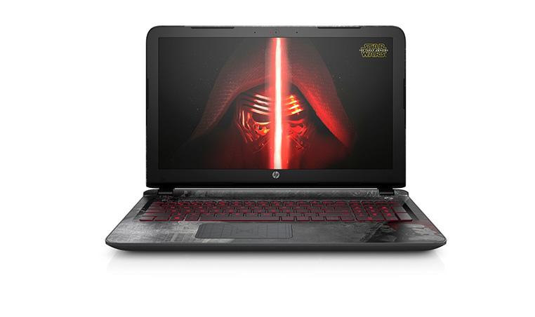 "HP Star Wars con pantalla LED de 15"""