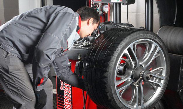 Balanceo de neumáticos