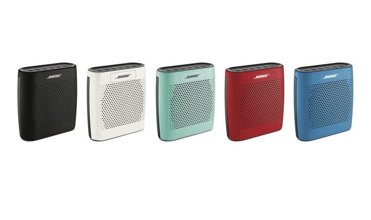 Bocina Bose SoundLink Color: cinco colores