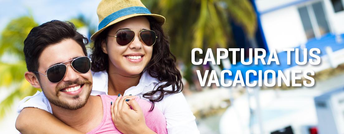 Captura tus vacaciones