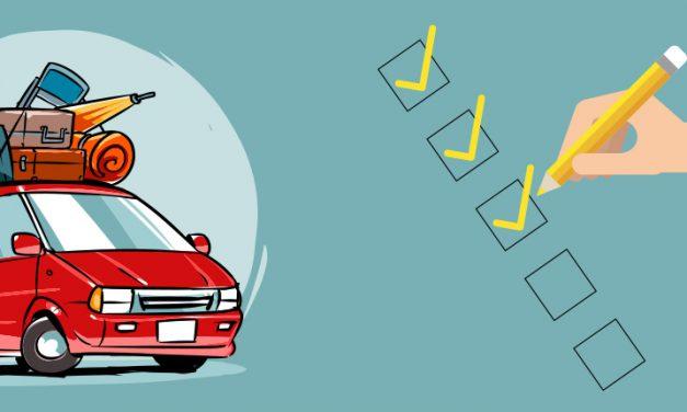 Checklist antes de salir de carretera