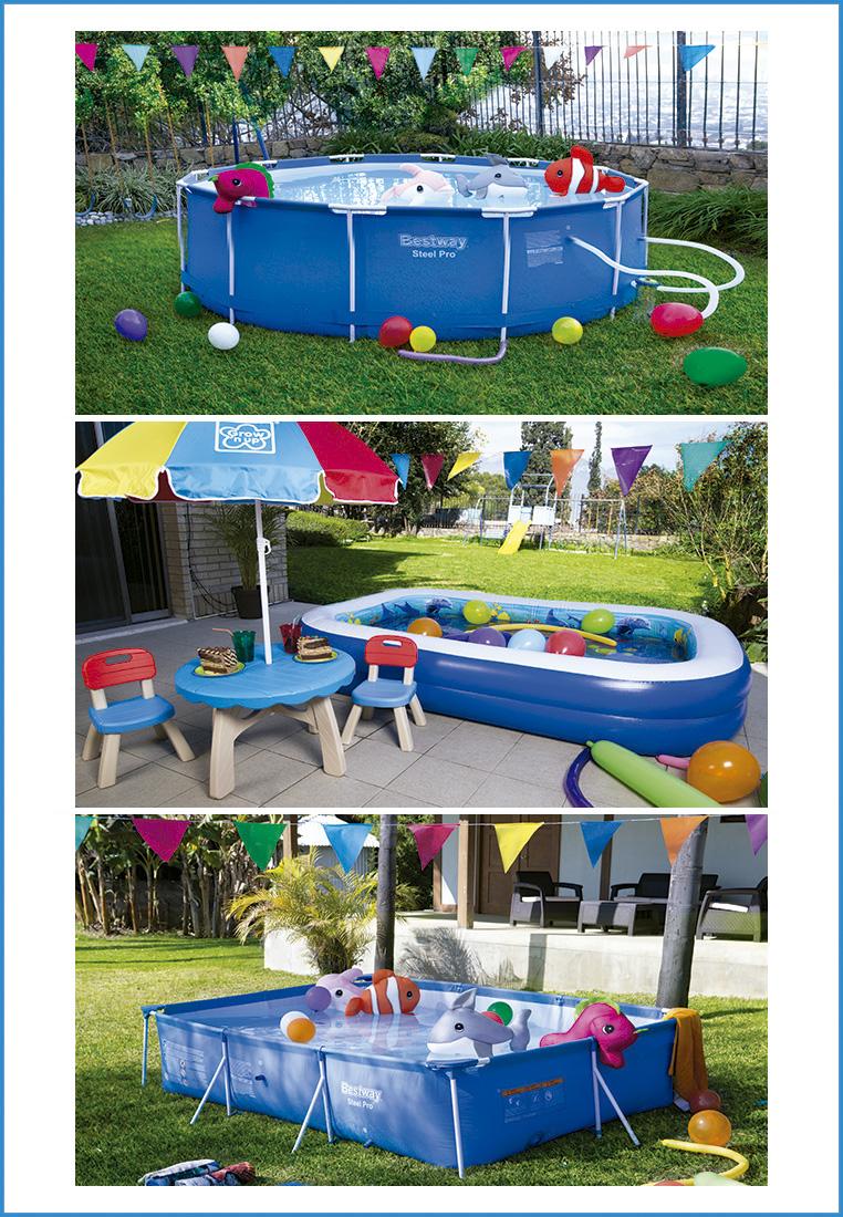 Dale Vida A Tu Jardin Y Organiza Una Pool Party City Life