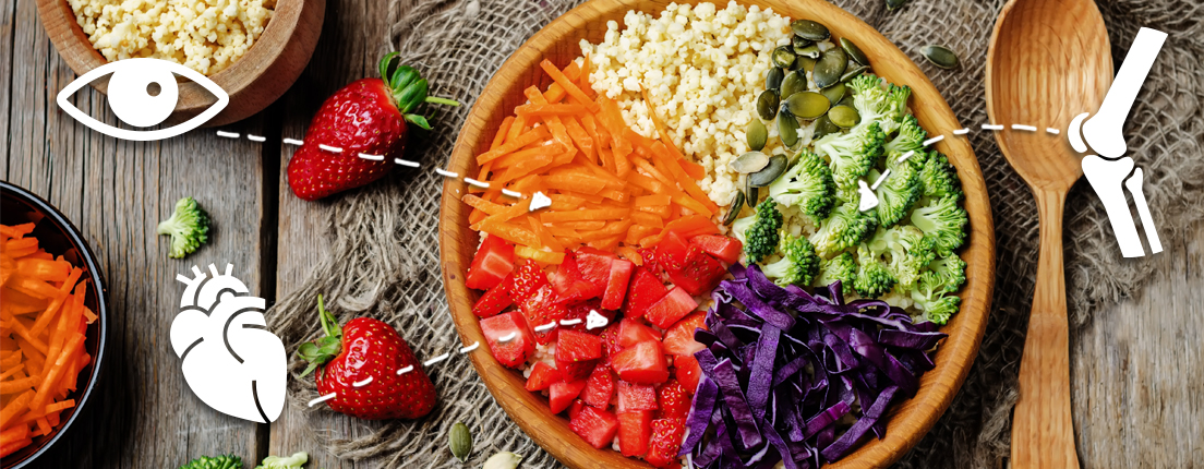 Color de vegetales