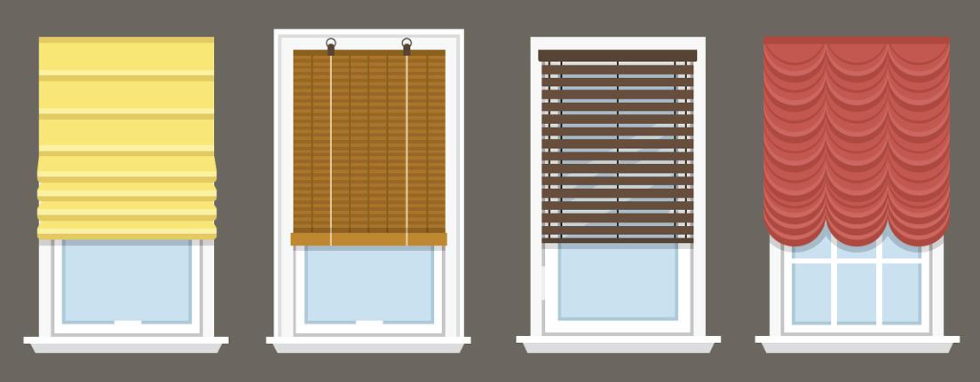 ¿Persianas o cortinas?