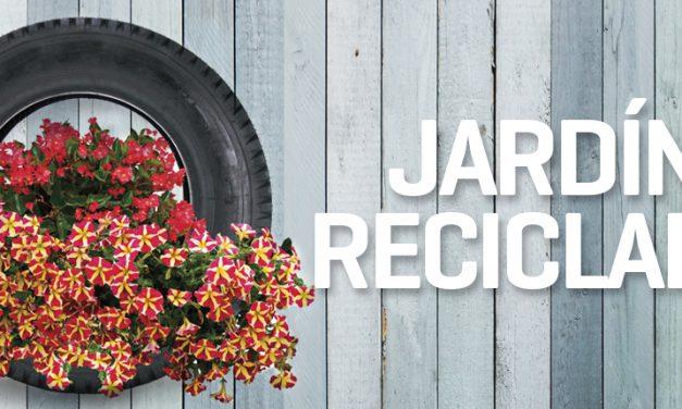 Ideas de reciclaje para decorar tu jardín