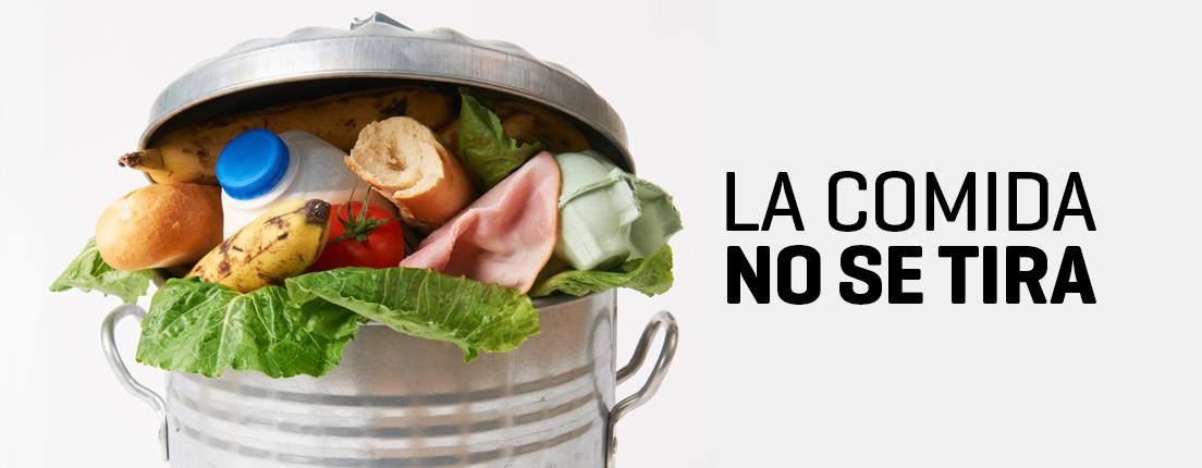 5 pasos para no desperdiciar comida