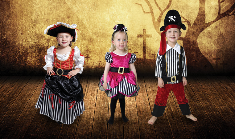 Disfraces piratas City Club