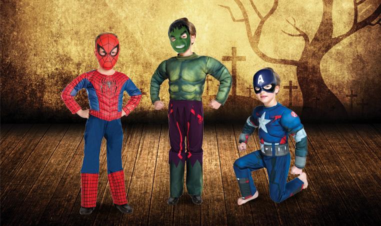 Disfraces Superheroes City Club