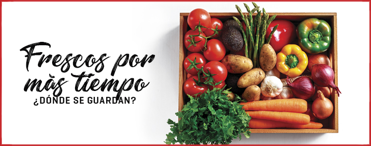 Cómo conservar las frutas y verduras por más tiempo