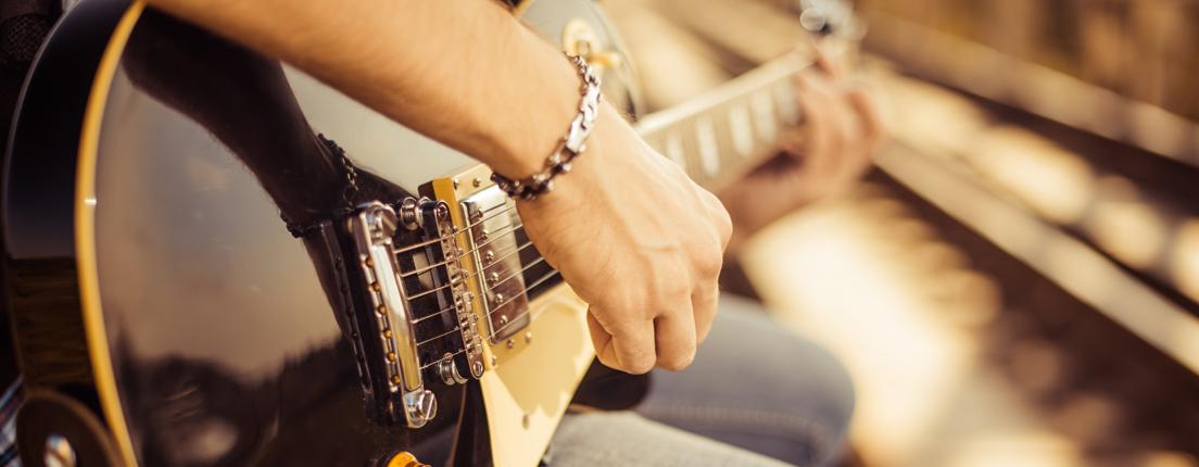 El poder terapéutico de la guitarra
