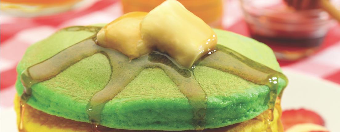Hot cakes de colores
