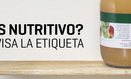 ¿Cómo leer la información nutricional de los productos?