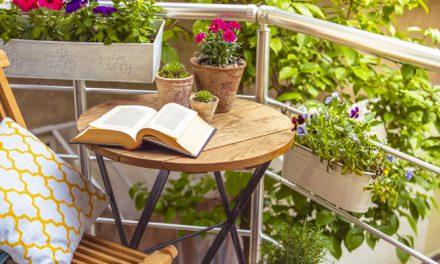 Jardín en el balcón