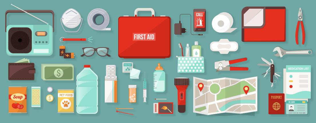 Kit de emergencia para el hogar