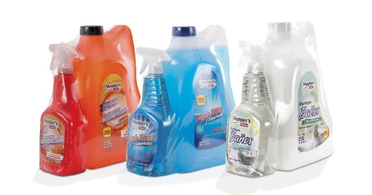 Básicos: limpiador desengrasante, servitoallas y lavatrastes Member's Choice