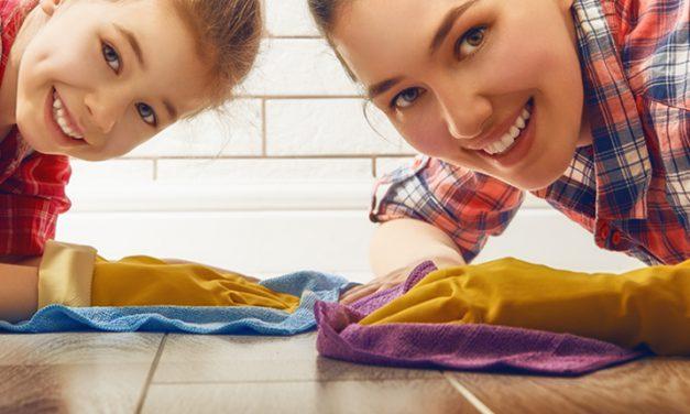 Reglas para mantener la casa limpia
