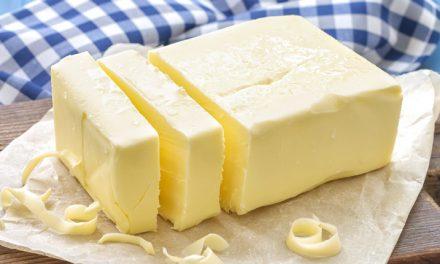 5 sobre la mantequilla
