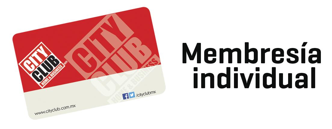 Membresía Individual de City Club