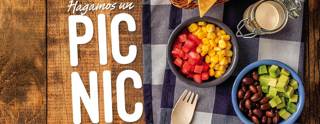 Menú para un día de picnic