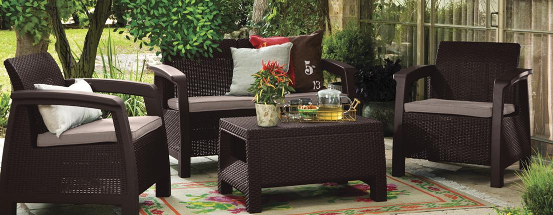 Muebles para el jard n city life for Muebles de jardin milanuncios