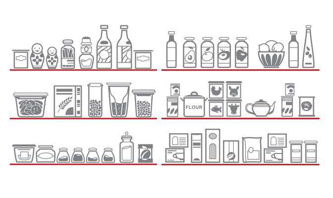 Infografía: Organiza tu despensa
