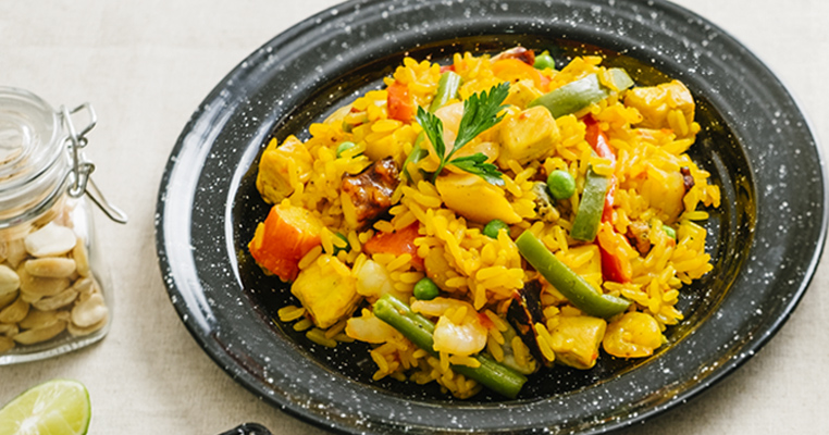 Paella estilo City Club