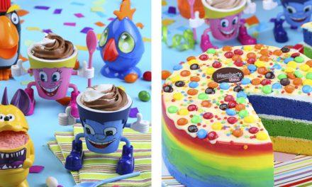 Pasteles y helados divertidos