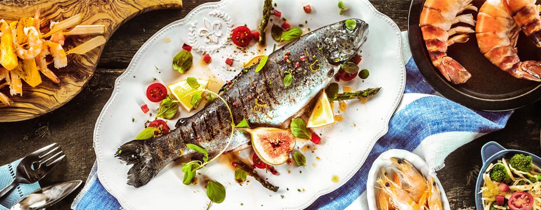 Beneficios de pescados y mariscos