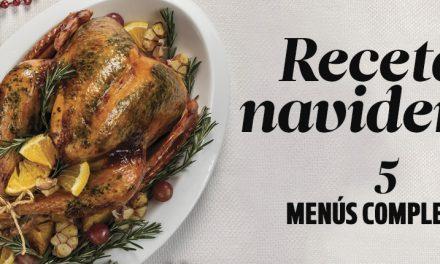 Recetas navideñas: 5 menús completos