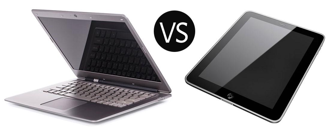 Tablet o laptop