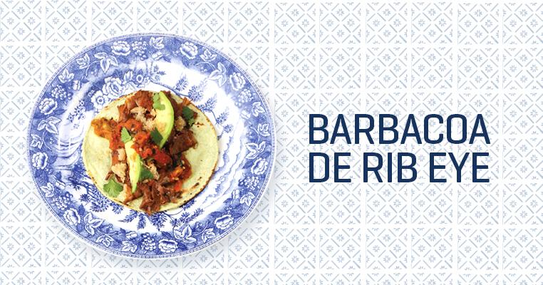 Tacos de barbacoa de Rib Eye