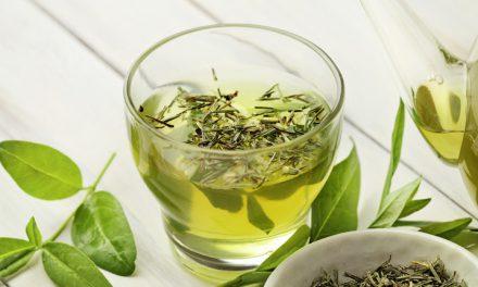 5 sobre el té verde