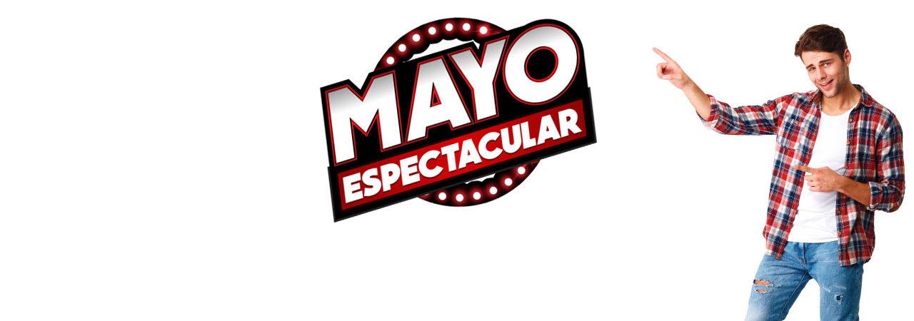 Mayo Espectacular en City Club. ¿Están listos?