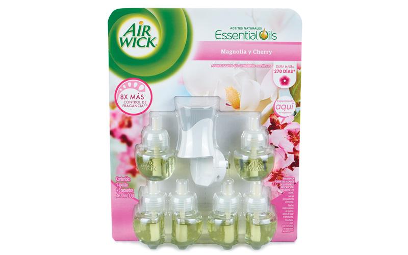 Aromatizante eléctrico Air Wick, paquete con 6 repuestos