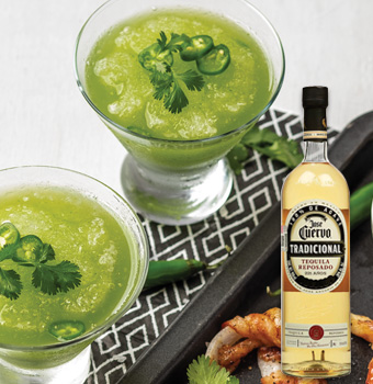 Bebida Margarita de Jalapeño