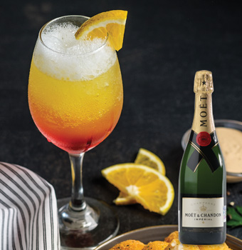 Mimosas - Champagne MOËT Brut Impérial