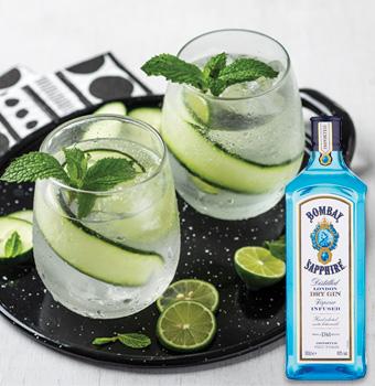 Bebida Gin & Cucumber