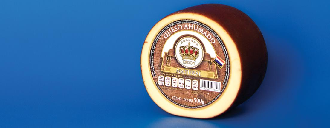 ¿Qué es eso? Eso es queso ahumado.