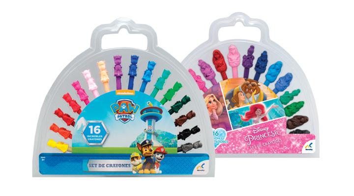 KIT DE CRAYONES Licencias Disney - 655244020200