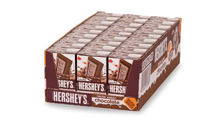 BEBIDA SABOR CHOCOLATE 27/236 ml HERSHEYS - 7501024579334