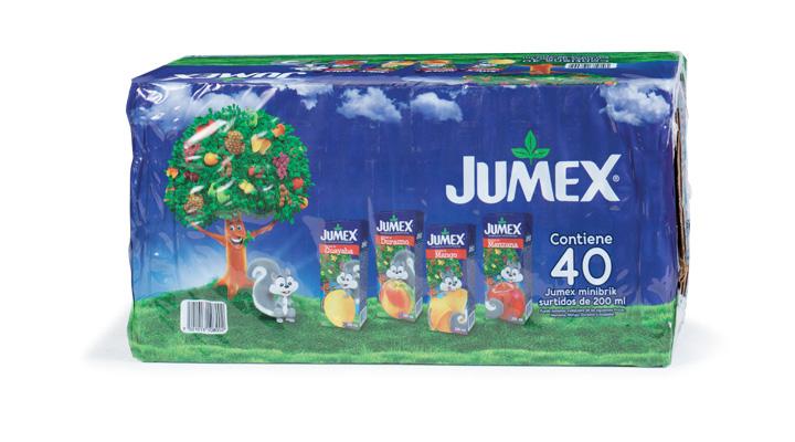 NÉCTAR SURTIDO 40/200 ml JUMEX - 7501013108002