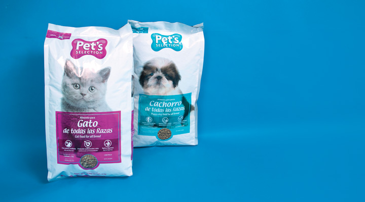 Productos Pet's Selection: Alimento para perro y gato