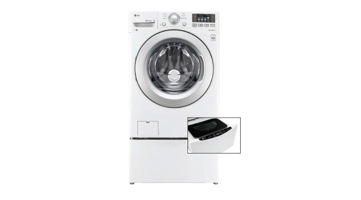 Lavasecadora y Miniwash LG. Lava 20 kg, seca 12 kg, miniwash de 3.5 kg. Código: 8806098014477