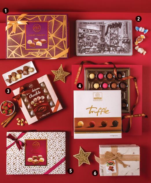 Opciones chocolates y Trufas para regalo navideño