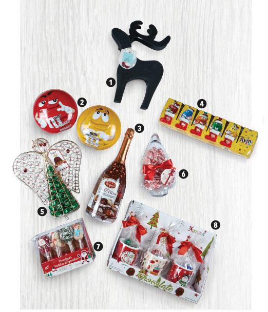 Opciones variadas de regalos de navidad