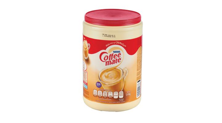 SUSTITUTO DE CREMA PARA CAFÉ COFFEE MATE  1.4kg  NESTLÉ  7501059242883