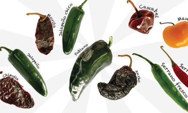 Los chiles mexicanos más famosos