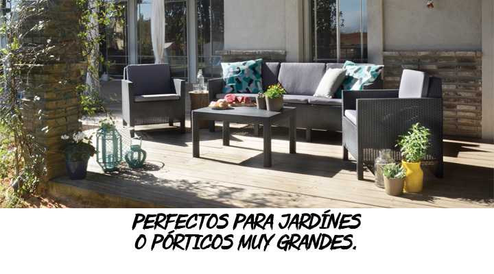 SET DE PATIO CHICAGO - 8711245125541