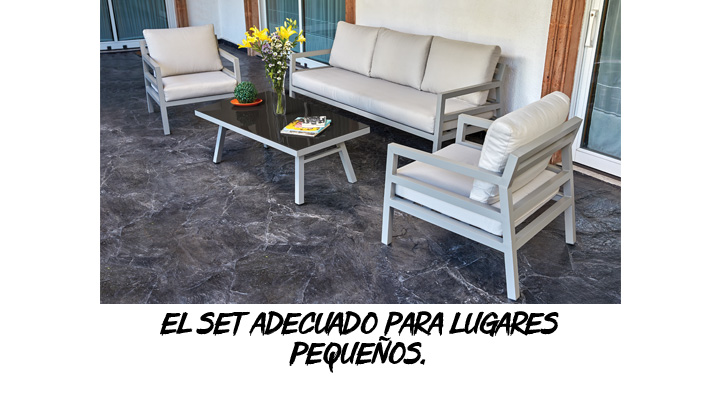 SET DE PATIO WHITE